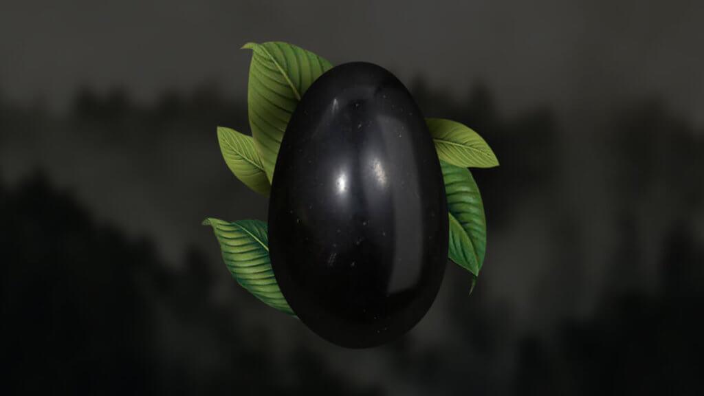 Yoni Egg Obsidiana