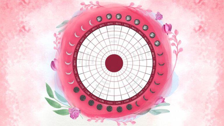 Calendário Menstrual e Lunar 2021